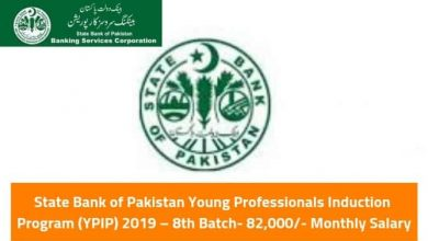 State Bank of Pakistan Young Professionals Induction Program (YPIP) encourage qualified men and women with diverse academic and cultural backgrounds to apply