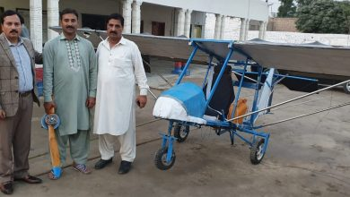 Civil Aviation Authority (CAA) showed some respect to the Pakpattan' resident Muhammad Fayyaz and his innovation as it returned his locally-made.