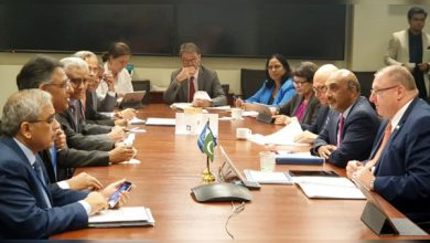 Finance Minister, Asad Umar and Pakistan's delegation he has been leading, met with representatives of Asian Development Bank (ADB), World Bank (WB).