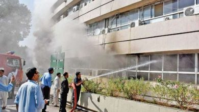 The Prime Minister Office has caught fire in Islamabad on Monday According to details, the fire erupted at sixth floor ofthe Prime Minister house