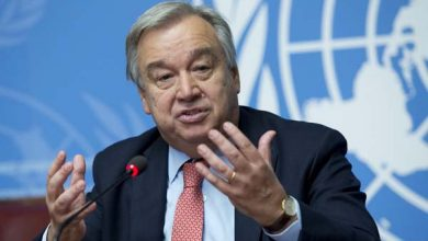 "UN Secretary-general Antonio Guterres has said that the ""democratic aspirations of the Sudanese people"" need to be realized through ""an appropriate"