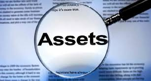 asset declared accounts