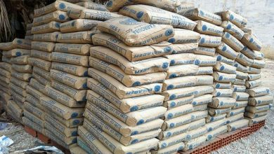 total cement sales Fiscal year 19