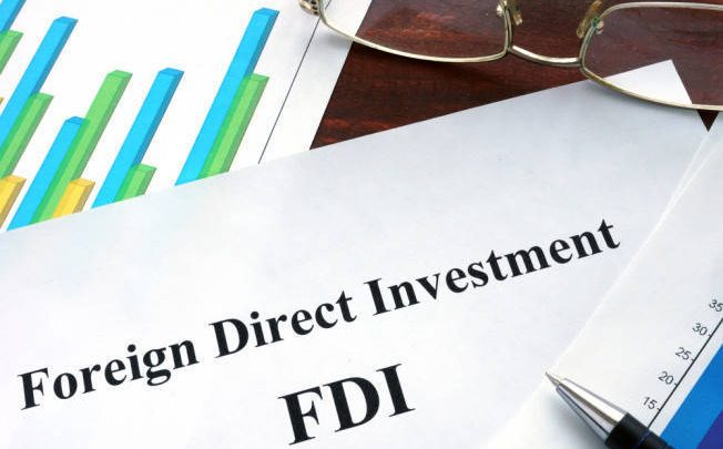 Foreign Direct Investment FDI falls Pakistan
