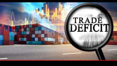 Trade Deficit declined last fiscal year