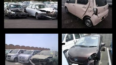 imported accident vehicles