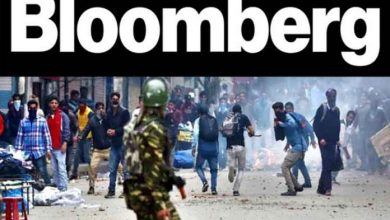 bloomberg india's annexation occupied Kashmir