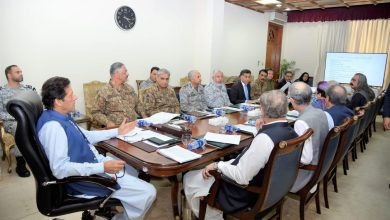 Imran Khan Chaired National Security Committee
