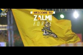Peshawar Zalmi force program