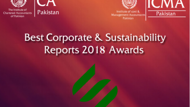 corporate sustainability report ICAP ICMAP