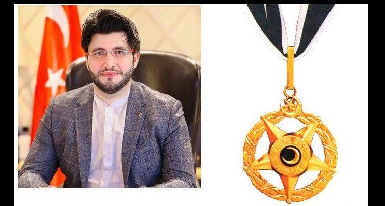 Javed Afridi awarded hilal e imtiaz