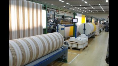 textile exports grew five months