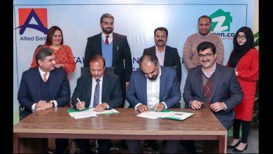 Zameen.com Allied bank signed mou