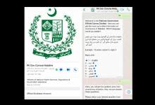 Today Ministry of National Health Services launched Pakistan Government Corona Helpline WhatsApp