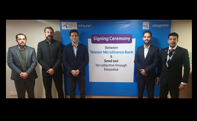 Easypaisa Seed out digitize payments solution
