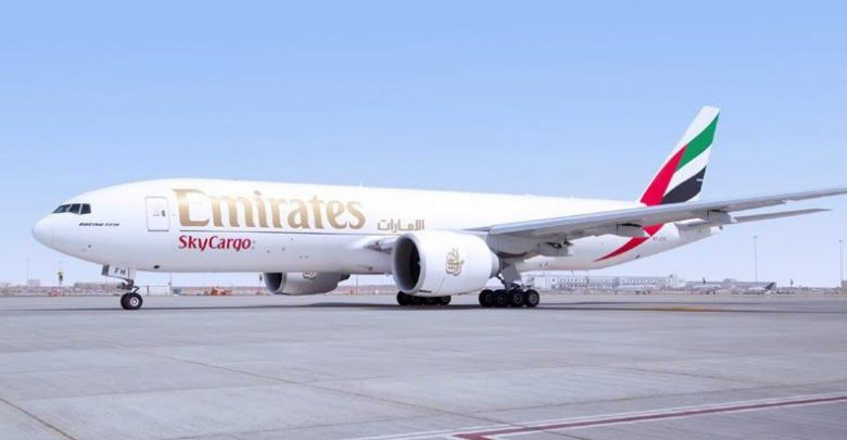 Emirates SkyCargo expanded cargo flight
