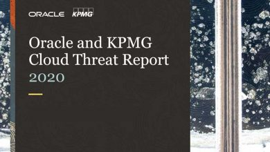 IT Data security Oracle and KPMG Cloud Threat Report 2020