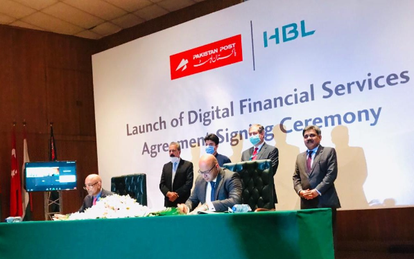 HBL Pakistan Post PPOD entered 20-year strategic alliance further financial inclusion leveraging digital technology