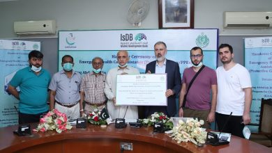 KAAP IsDB donated COVID-19 emergency healthcare assistance Director Health Services Health Department Government Sindh combat