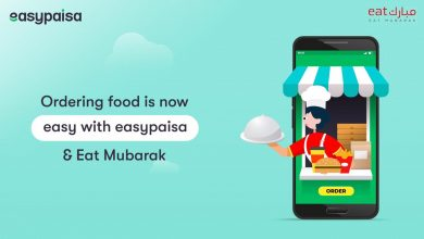 Easypaisa partnered Eat Mubarak expand diverse range offerings available customers