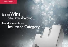 Jubilee Life Insurance Pakistan's leading private sector life insurance provider awarded prestigious Effie Award Insurance Category