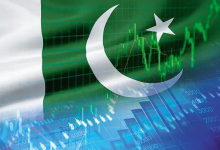 Pakistan Stock Exchange benchmark index rose touch intraday +502 points closing