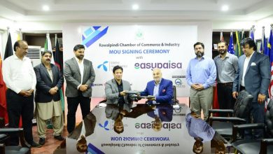 Easypaisa signed agreement Rawalpindi Chamber Commerce and Industry RCCI enable collection payments