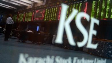 KSE100 index touched +255 points