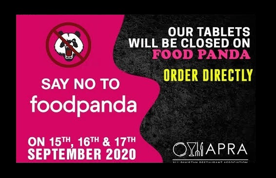 APRA protested unfair practices foodpanda boycotted